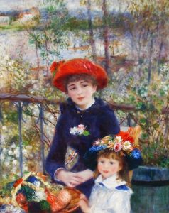 renoir woman with child