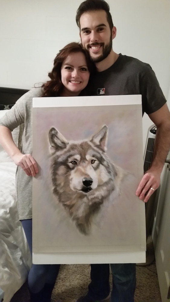art buying, Austin's wolf