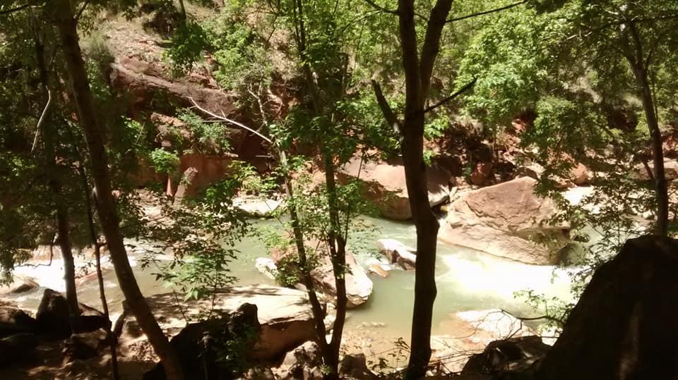 hiking zion 2