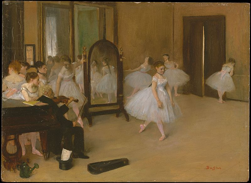 undivided heart degas ballet