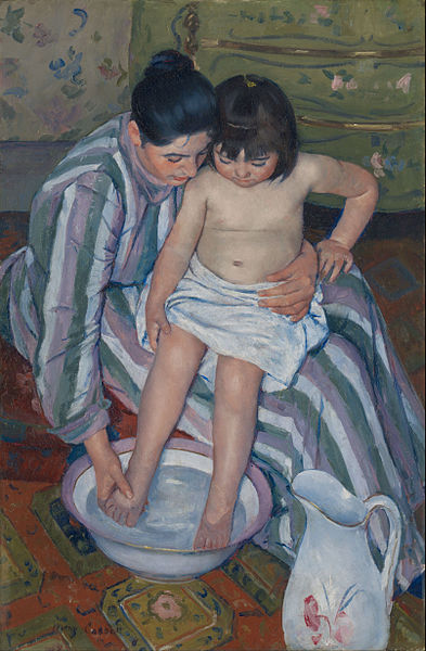 fragile blog (cassatt painting)