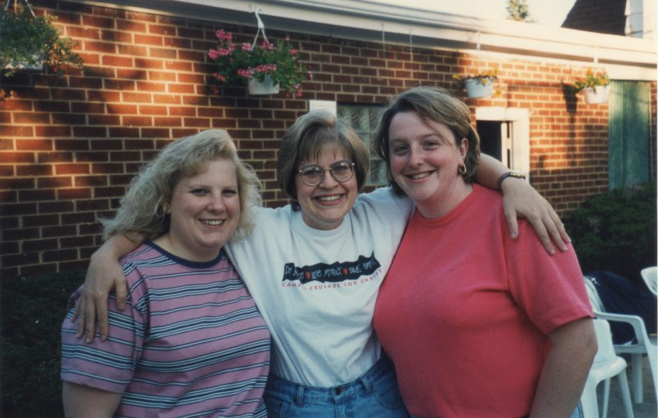 fragile, fierce, and faithful - my friend, Cathy