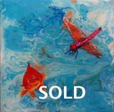 fishing around - sold