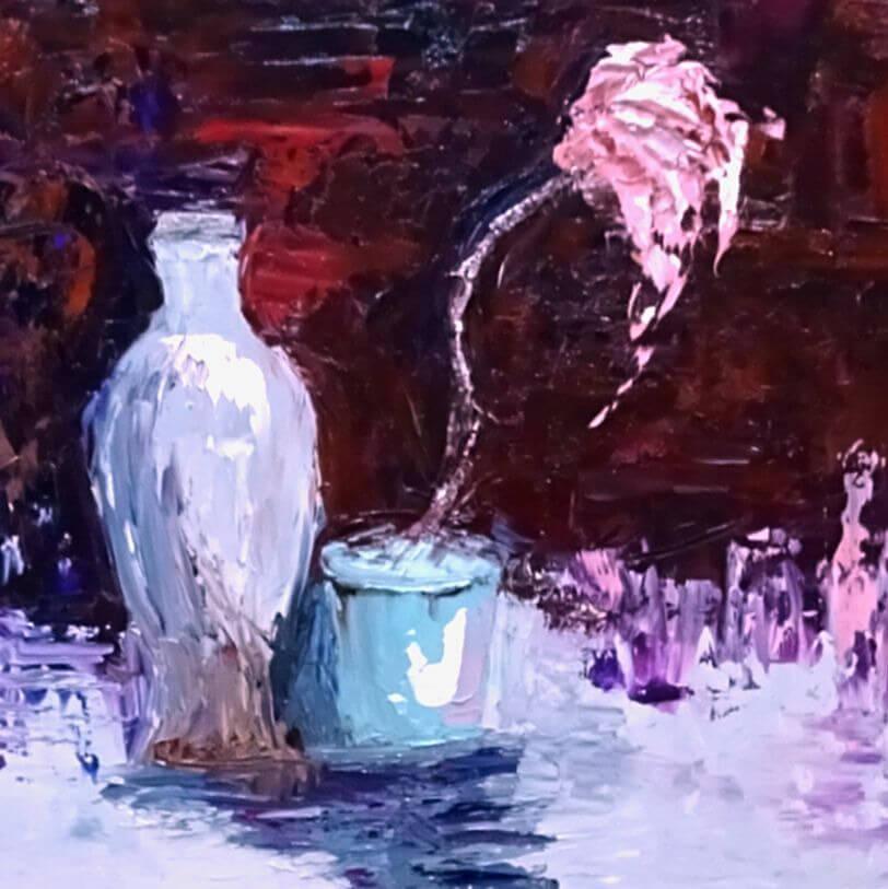 creativity takes courage (pink palette posie)