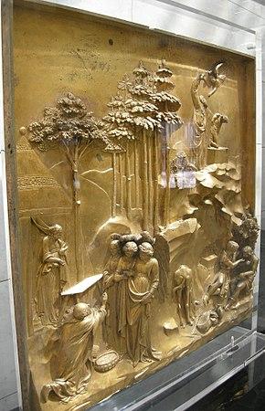 "Am I Crazy? Lorenzo Ghiberti's cast gilt-bronze ""Gates of Paradise"""