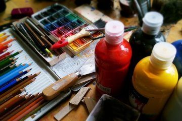 what's the point of art paint supplies