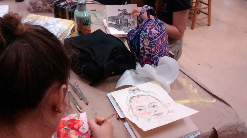teacher student blog, face, flowers