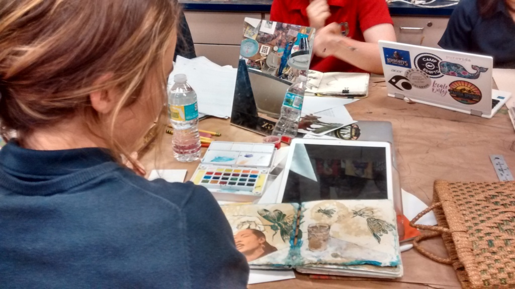 student teacher blog, collage