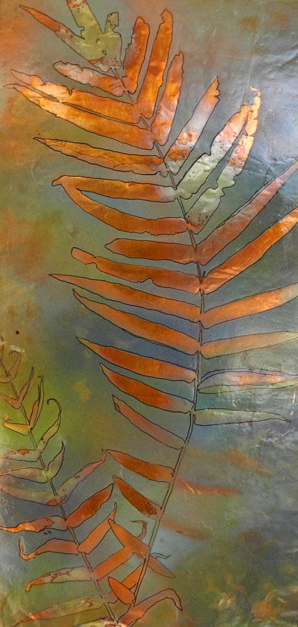 fern + 1 10x18 $180.00 by Lyn Novak Hise