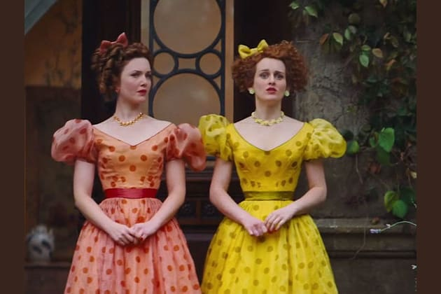 wicked stepsisters from Cinderella
