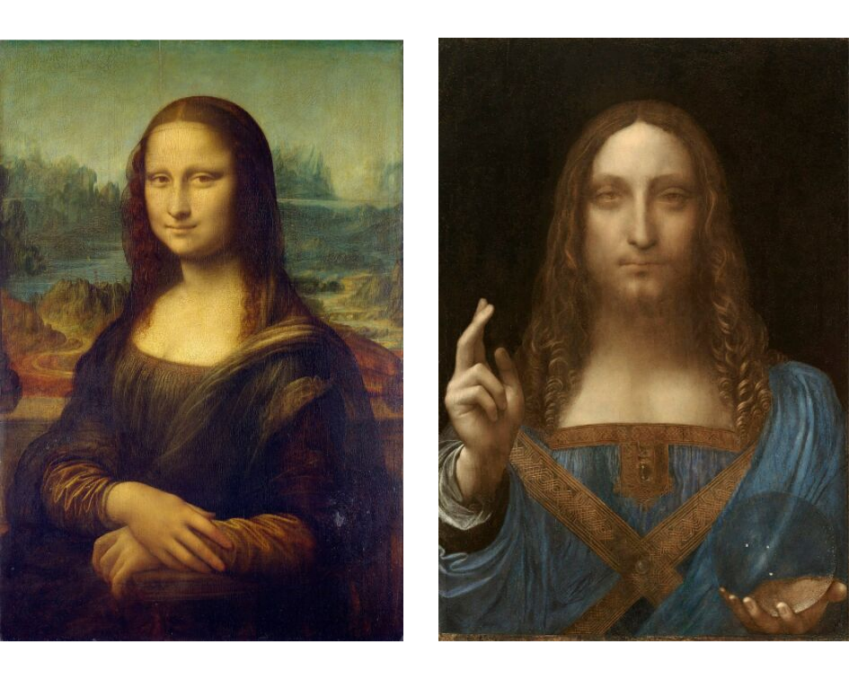 Mona Lisa & Salvator Mundi