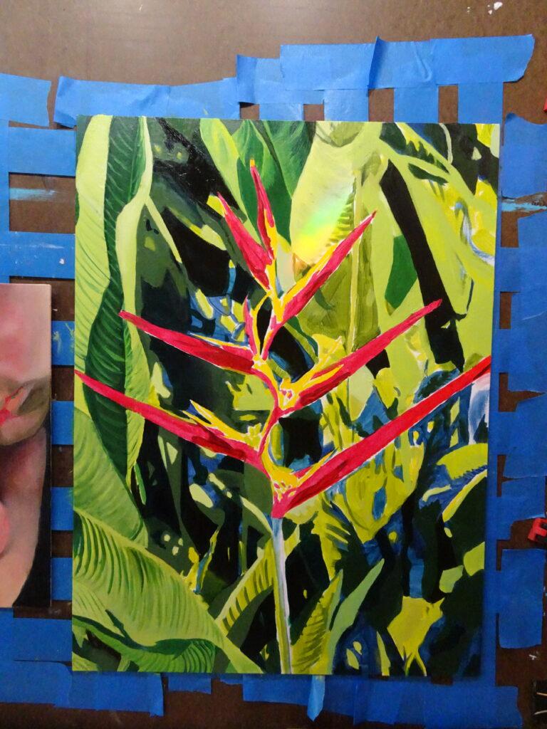 Habitat House painting step 2