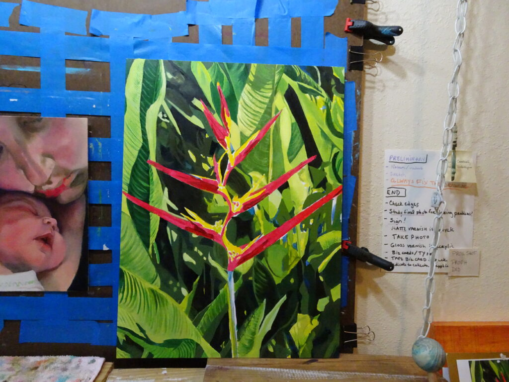 Habitat House painting step 3